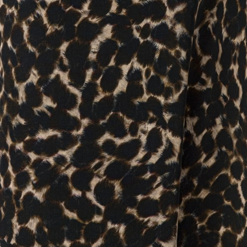 Viscosecrepe Animal Print