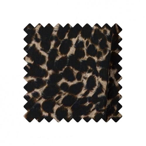 Stoffprobe Viscosecrepe Animal Print